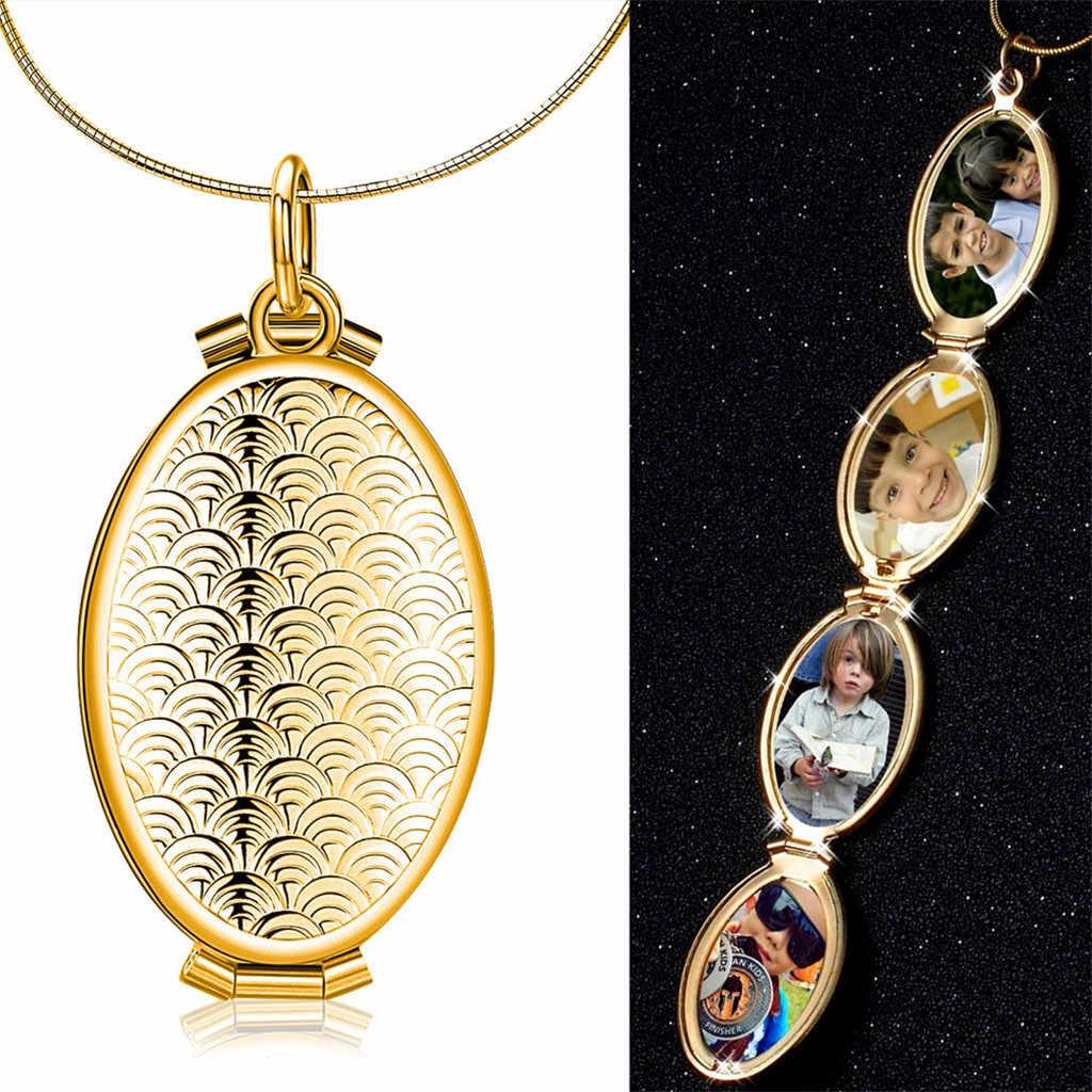 Rozszerzenie zdjęcie medalion naszyjnik wisiorek Choker Angel Wings prezent biżuteria dekoracyjna naszyjnik wykwintne ozdoby Torque wisiorek