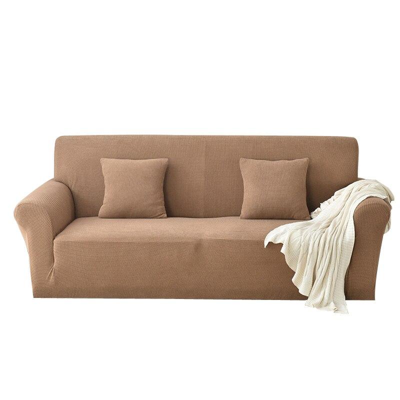 Tout nouveau canapé doux stretch canapé couverture élastique canapé conception simple fermeture à glissière détachable machine lavage fleur couleur en option