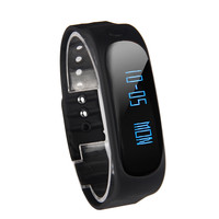 Splendid Luxury Women Men Waterproof Sports Bluetooth Wrist Smart Watch Bracelet E02 For Samsung