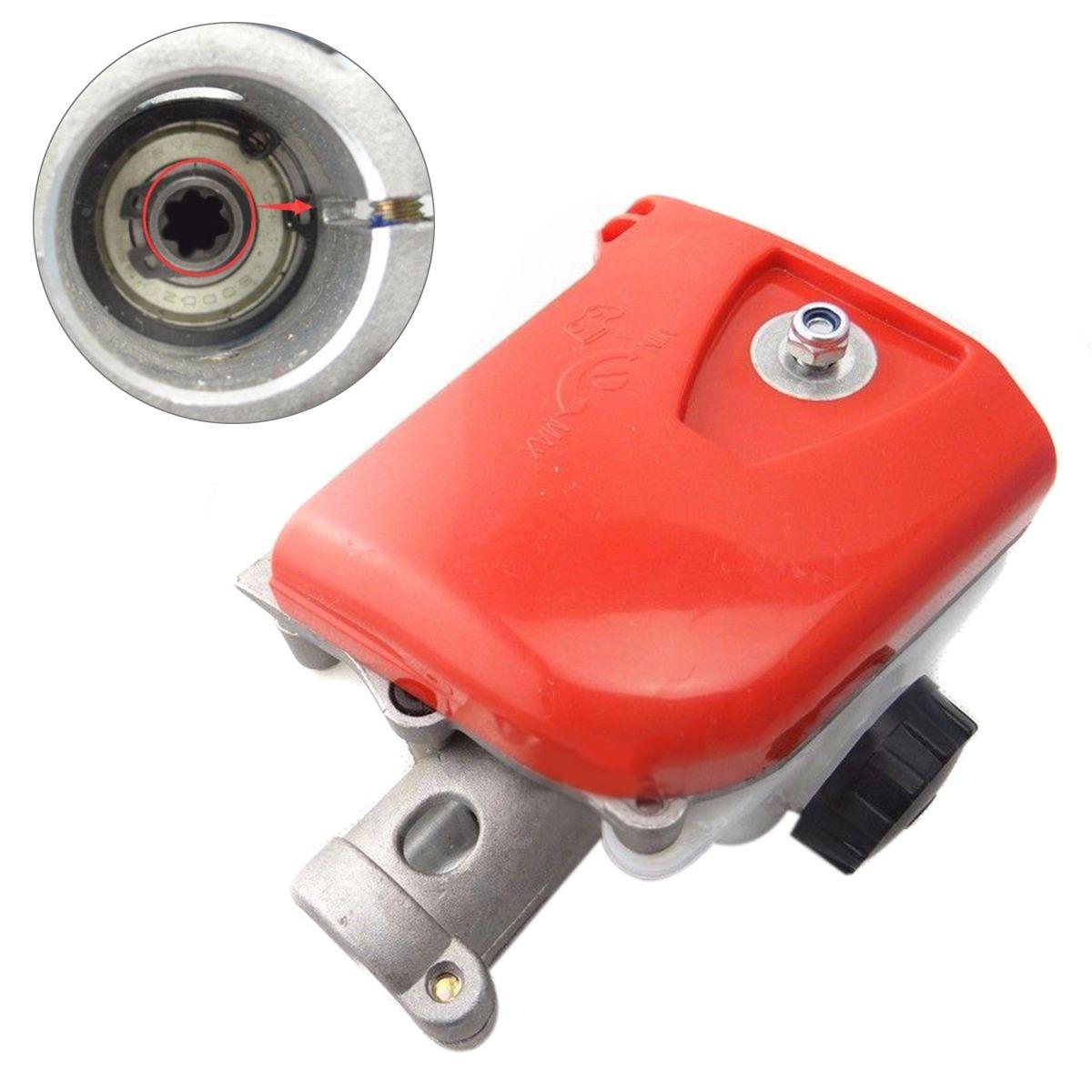 DWZ 26mm 7 Spline Pole saw Tree Cutter Chainsaw Gearbox Gear head Tools Orange&White