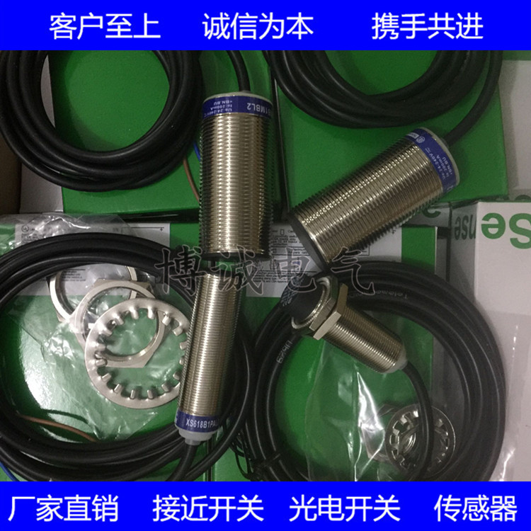 High Quality Cylindrical Proximity Switch XS212BLPAL2 XS212BLNAL2 DC 3-wire Warranty For One Year