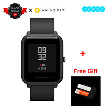 "[IN STOCK] Global version Xiaomi Huami Amazfit BIP BIT PACE GPS IP68 Waterproof Youth Smart watch 1.28"" Color Screen Smartwatch(China)"