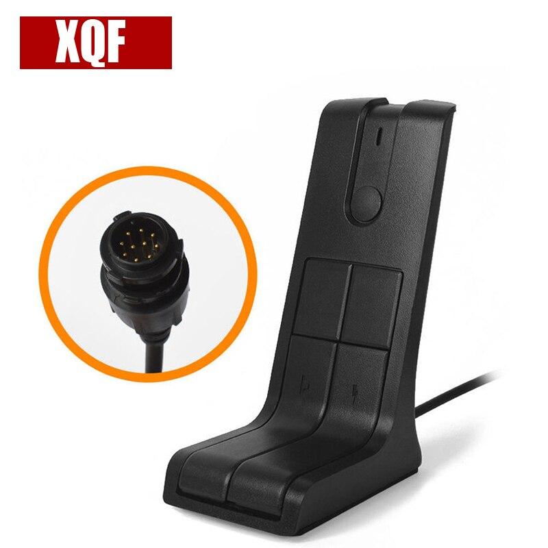XQF 10PCS  Mobile Car Radio Desktop Microphone For Motorola DGM4100 DGM4100+ DGM6100