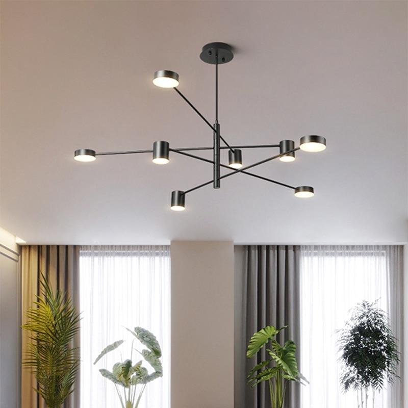 Modern LED chandelier ceiling chandelier lighting living room dining room bedroom decoration lighting french country