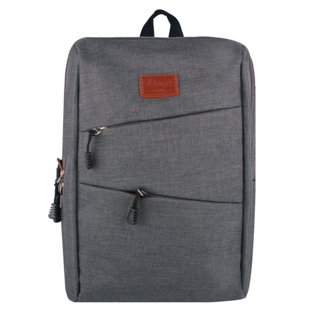 RORETE Vintage Canvas Backpack College Student School Backpack Bags Suit for 14 inch Computer Rucksacks Laptop Travel Bag X743