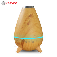 400ml Hot Sale LED Light Ultrasonic Air Humidifier Mist Maker Fogger Electric Aroma Diffuser Essential Oil