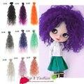 9 шт./лот толщиной поделки BJD волосы 25 см * 100 см имитация шерстяной фиксированной кукла парики для SD для 1/3 1/4 BJD парики