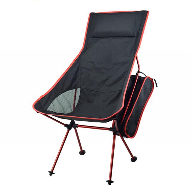 Leve Cadeira Ultra Leve Portátil Dobrável Ao Ar Livre Camping Caminhadas Pesca Cadeira Cadeira Espreguiçadeira Cadeira de Acampamento Portátil