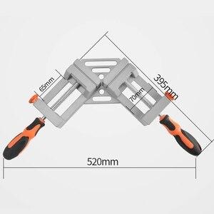 Image 4 - Pince dangle à Double poignée chaude WSFS pince dangle à dégagement rapide à 90 degrés pour le soudage de la pince de cadre Photo en bois