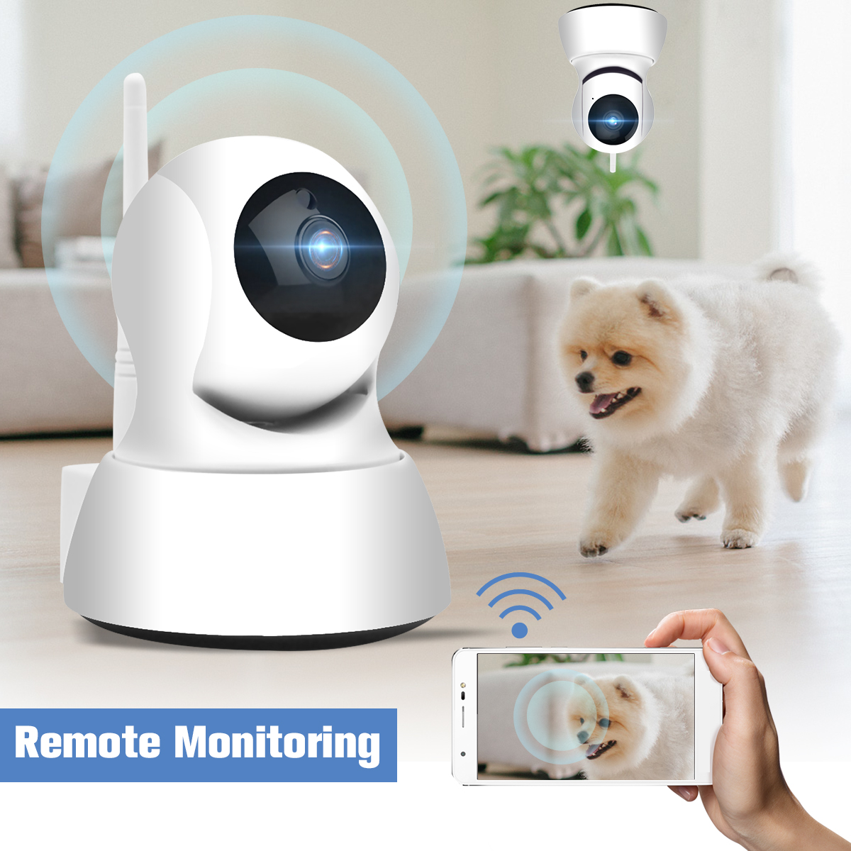 HD 1080P Wifi Wireless Smart IP Camera Network Surveillance Cameras Home Security Baby Monitor CCTV Night Vision Two-way AudioHD 1080P Wifi Wireless Smart IP Camera Network Surveillance Cameras Home Security Baby Monitor CCTV Night Vision Two-way Audio