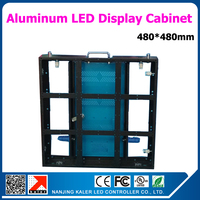 480*480mm aluminum profile rental cabinet indoor led video wall slim light weight easy to install and uninstall