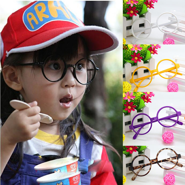 Wholesale of small round glasses frame children Arale Harry Porter childrens glasses fra ...