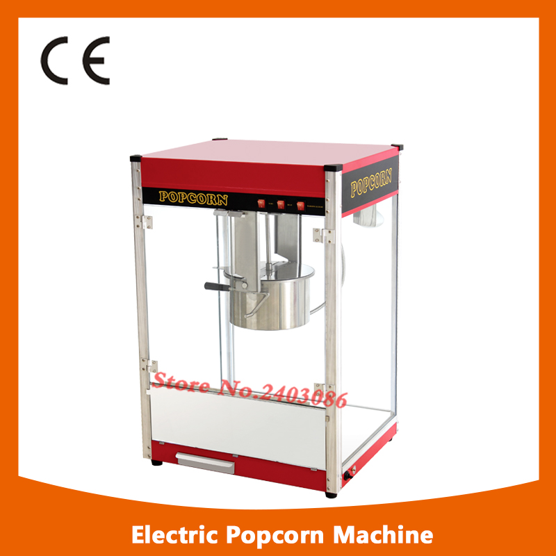 high efficiency cinema equipment 80z hot air Electric Automatic Sweet Theater kettle Popcorn making Machine With CE fast food equipment automatic use popcorn machines for sale high quality use popcorn machines for sale caramel popcorn machine