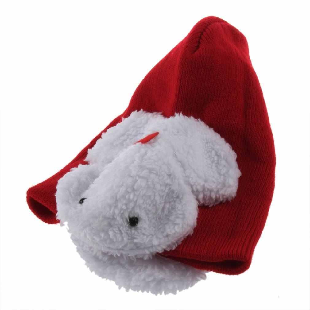 เด็กทารกฤดูหนาวป้องกันหูอุ่นหมวกหมวกกระต่าย Earmuffs Beanie
