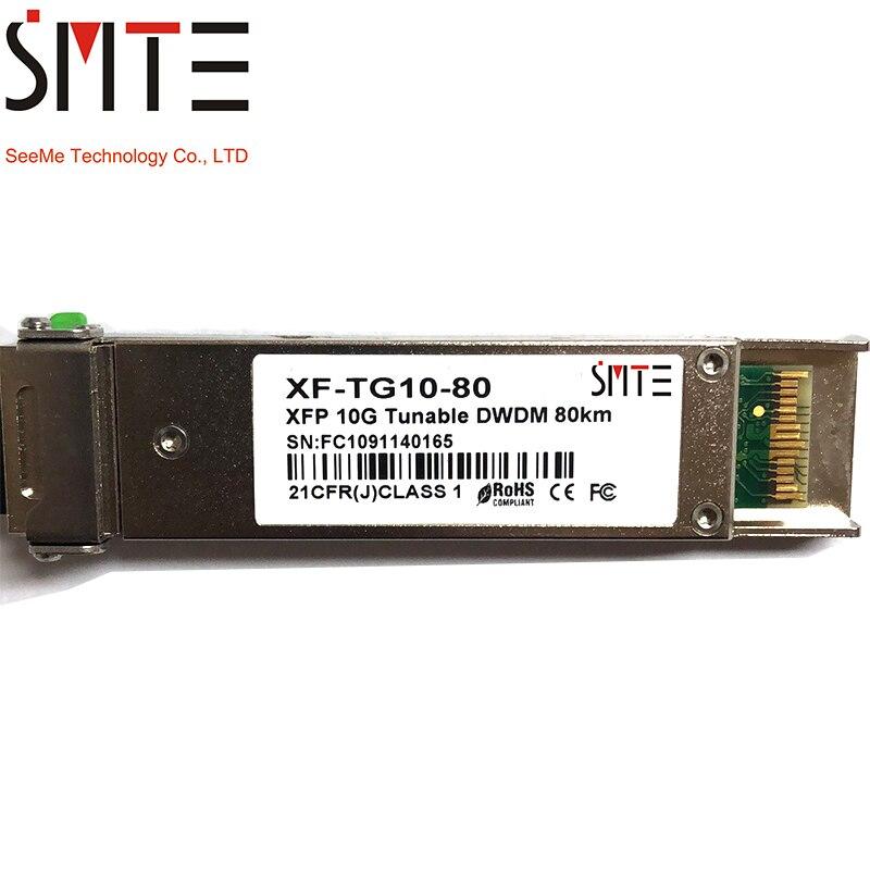 SMTE XF-TG10-80 XFP 10G Tunable DWDM 80km 21CFR(J)CLASS 1 free shippingSMTE XF-TG10-80 XFP 10G Tunable DWDM 80km 21CFR(J)CLASS 1 free shipping