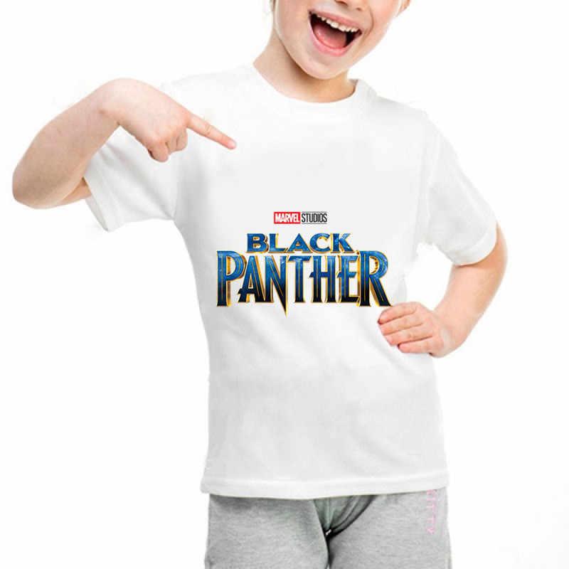חדש שחור פנתר b109 ממלכת מצחיק חולצה ילדי תינוק קיץ חמוד בגדי בני בנות חולצות שחור פנתר T חולצה