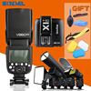 Godox V860II C 2 4G Wireless E TTL II Li On Camera Flash Speedlite X1T Trigger