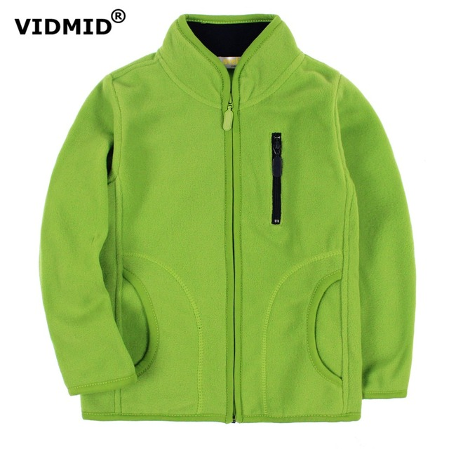 cf11cb557b4 VIDMID Children jackets coats baby boys girls fleece jacket cute boys girls  clothing kids fashion sweater