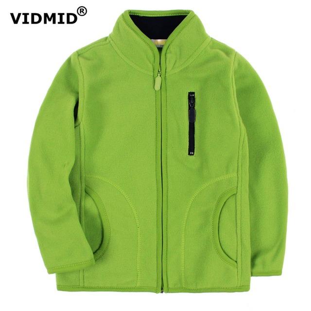 Vidmid crianças jaquetas casacos meninos do bebê meninas casaco de lã bonito meninos meninas roupas crianças jaqueta moda camisola blusa 1097 06