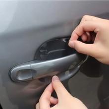 4Pcs Set Door handle protection film For VW jetta Golf 6 POLO Passat Cruze kIA RIO