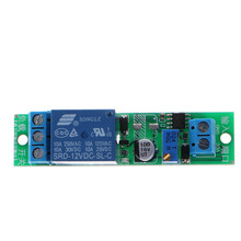 OOTDTY DC 12V Signal Trigger Delay Turn Off Timer Switch Relay Module 0-25s
