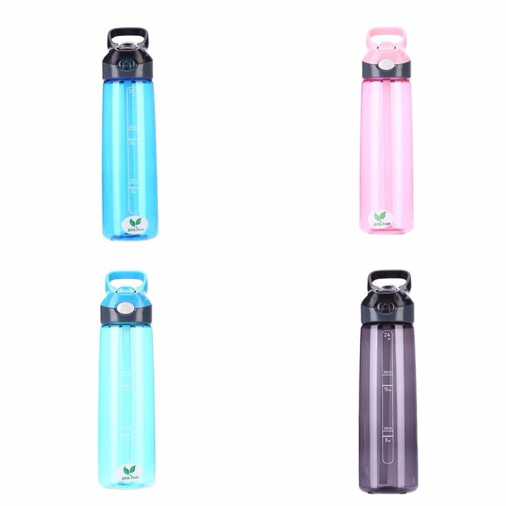 EYCI 700 ML Tragbare Sportwasserflasche Camping Radfahren pour Vélo Wasserkocher Reiten Tasse Zubehor 4 Farben dans Bicycle Water Bottle de Sports et loisirs