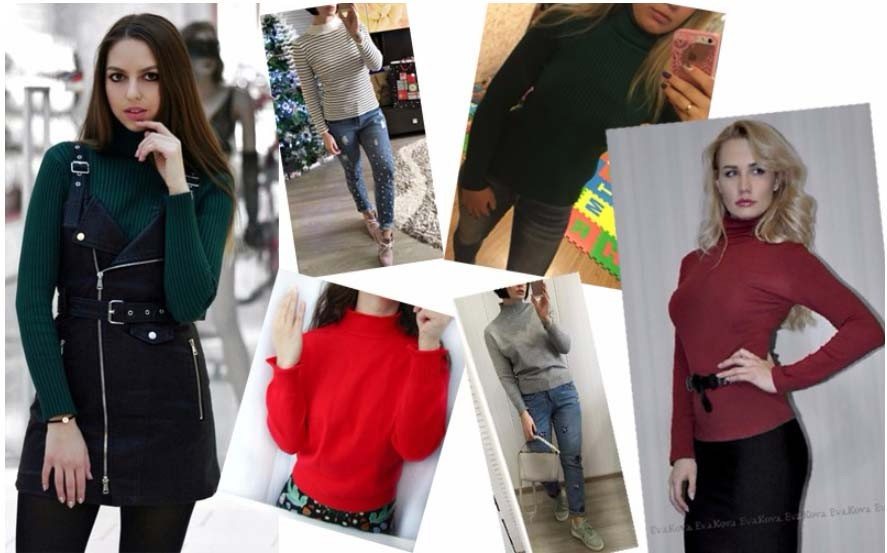 18 DRL sweater women Basic woman sweater pullovers long sleeve Jumper Long Sleeve Sweaters Autumn Winter pull femme hiver 28