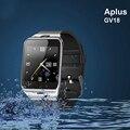 Новый Aplus GV18 Smart Watch Phone Bluetooth smart watch Поддержка Micro Sim-карты NFC Связи Для Xiaomi Samsung iPhone Huawei