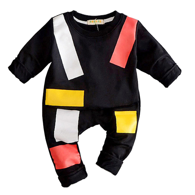 6ff9029ab5dee New Plaid Bebe Toddler Kids Clothes Newborn Baby Boy Girl Autumn Clothing  Set Long Sleeve Tops Sweatshirt + Pants Outfit Clothes-in Clothing Sets  from ...