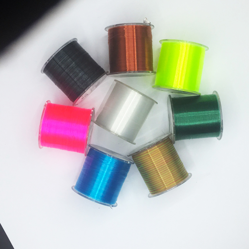 Image 2 - super strong japan monofilament main fishing line 500m durable transparent fly nylon line fishing tackle pasca thread bulk spool-in Fishing Lines from Sports & Entertainment