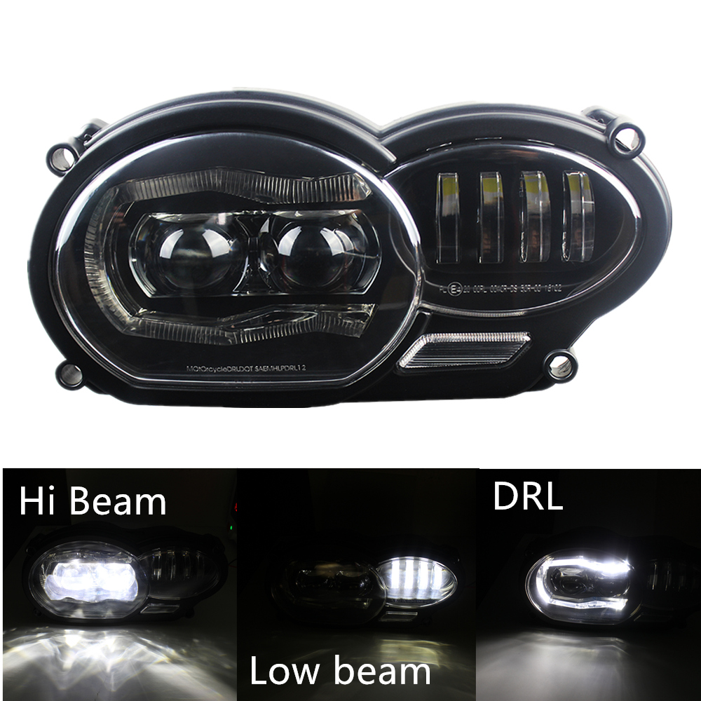 Motor Bike 2018 LED Headlight for BMW R1200GS R 1200 GS ADV R1200GS LC 2004-2012 ( fit Oil Cooler)