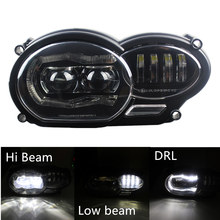 Motor Bike 2018 LED Headlight for BMW R1200GS R 1200 GS ADV R1200GS LC 2004-2012 ( fit Oil Cooler)(China)