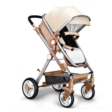 Stroller high landscape can sit or lie two way shock absorbers winter bb baby car deck
