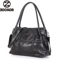 Women Genuine Leather Bag Weave Sheepskin Handbags Women Famous Brands Designer Female Handbag Messenger Bags Shoulder