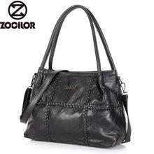 Frauen Aus Echtem Leder Handtasche Weave Schaffell Handtaschen Frauen Berühmte Marken Designer Weiblichen Handtasche Messenger Bags Schultertasche Sac