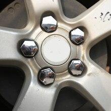 20 unids/set cromo Abs cubo de rueda tapas de cubierta para Chevrolet clásico para Chevrolet Malibu Trax 2012, 2013, 2014, 2015 2016