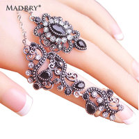 Carved Flowers Vintage Pretty Exquisite Mid Rings Fashion Turkish Jewelry Anel Aneis Masculinos Anillos Anti Gold