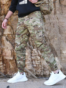 Jogger Pants Military-Trousers Streetwear Mege Tactical Camouflage Men Fashion Casual