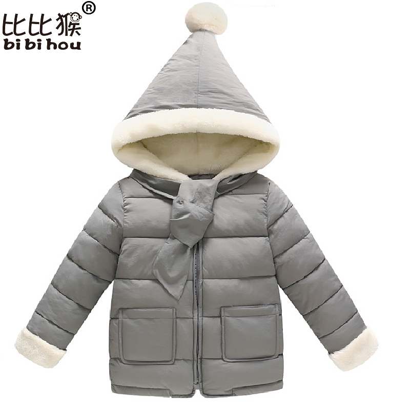 Boy down jacket Winter Girl down jackets Coat Parkas Hooded Christmas costume Kids Down Jackets Girls snow wear infant 2-6yrs 2017 kids jacket winter for girl and coats duck down girls fluffy fur hooded jackets waterproof outwear parkas coat windproof