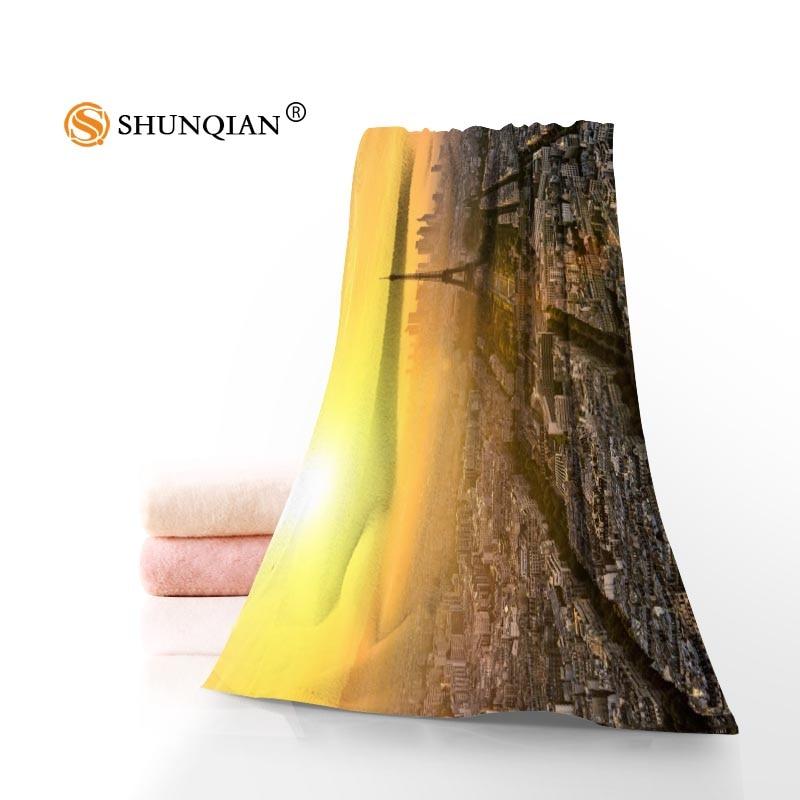 Francia París Toallas microfibra Toallas de baño viajes, playa, cara personalizada toalla creativa tamaño 35x75 cm y 70x140 cm a9.25