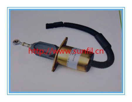 купить Shut Down 3415706 Fuel Solenoid Valve , 24V+3PCS/LOT,fast free shipping по цене 8812.48 рублей