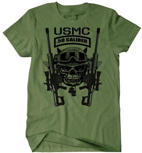 US Marines Infantry Assaultman T-shirt mænd MOS 0351 USMC army - Herretøj - Foto 3