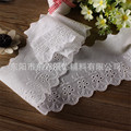 15yard* 10cm Embroidery Lace Ribbon Decor Cotton Lace DIY Sewing Handmade Crafts Wedding Fashion Sleeve Skirt Edge Accessories