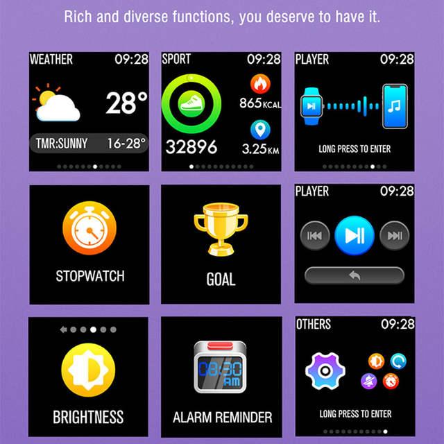 US $44 08 |Gorilla IP68 Bluetooth Smart Watch Men/Women HR/BP Health Montre  Connect For Apple/Xiaomi/Sony PK Pebblea/Y1/K88h Smartwatch-in Smart