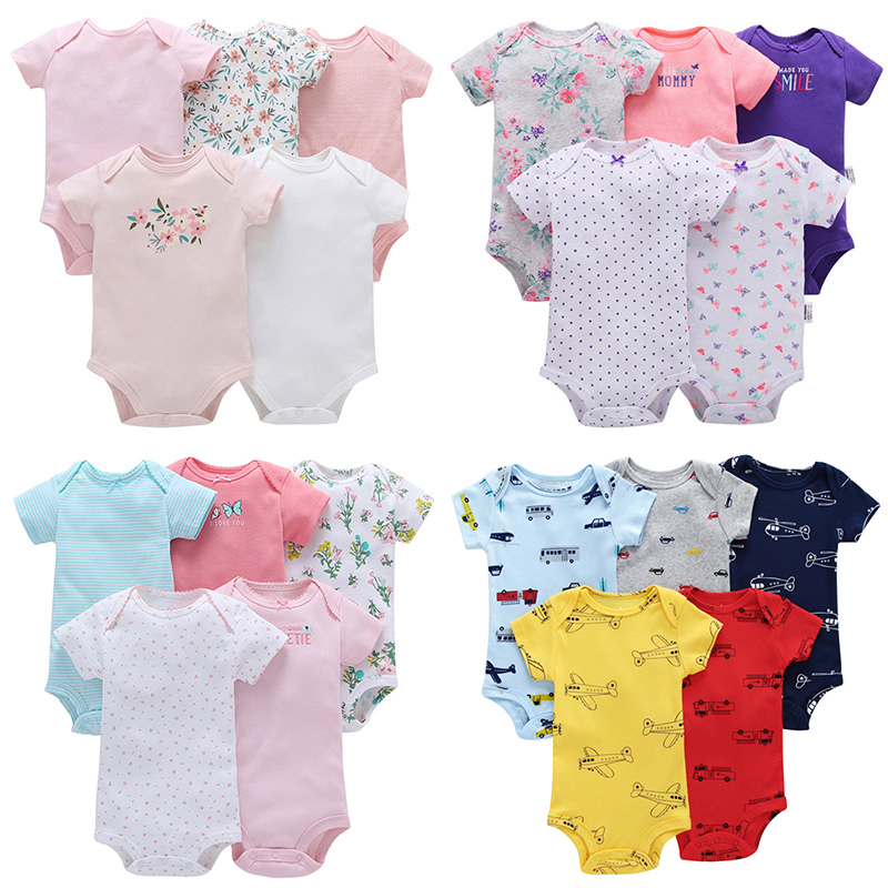 2e69423a23e0 Detail Feedback Questions about 2018 Summer Baby Rompers 5 Packs ...