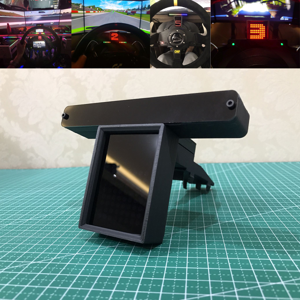 Modification Racing Car Game For Thrustmaster T500 T300 TSPC Logitech G29 G27 Fanatec Speed Gear Display Table Game