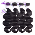 Alidoremi Brazilian non Remy Hair Body Hair Bundles 8-30 inch 100% Human Hair Weave Hair Free Shipping Natural Black