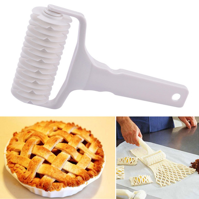 Hot Sale Plastic Baking Tool Dough Bread Cookie Pie Pizza Baking tool Pastry Lattice Roller Cutter High Quality