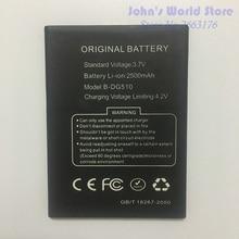 цена на Original Battery for DOOGEE B-DG510 Smartphone 2500mAh Lithium-ion Battery for DOOGEE B-DG510 DG510 Mobile Phone battery