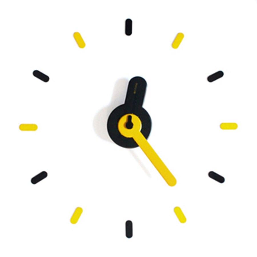 3d réel grande Horloge murale précipitée miroir mur autocollant bricolage salon Quartz silencieux mouvement décor à la maison Horloge horloges 3DBGV83